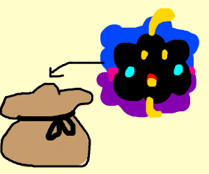 Get in the bag Nebby!