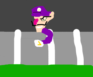 Attack on waluigi