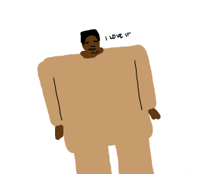 kanye west in the ''i love it'' music video