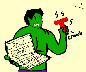 hulk joins the battle and subscribes to pewds