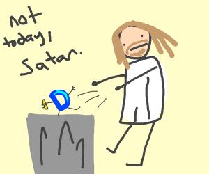 Jesus yeets drawception into the trash