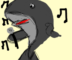 Whale singing