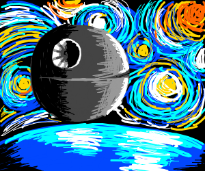 Death Starry Night