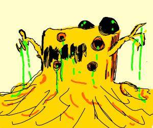 Mutant cheese monster