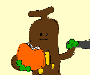 Sudowoodo does the cooking by the book