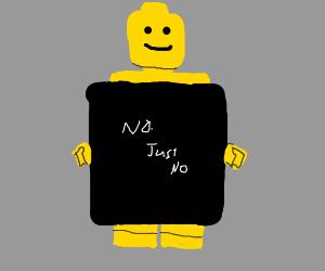Naked Lego Man