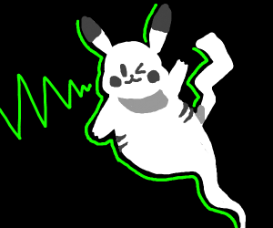 pikachu's ghost