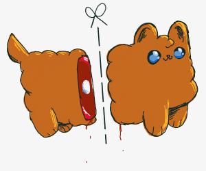 Cut doggie