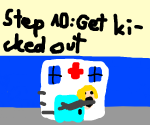 Step 9: Say the doctor's pregnant instead