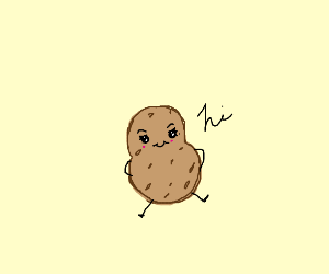a cute potato