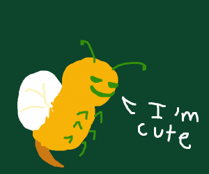 cute wasp being chill