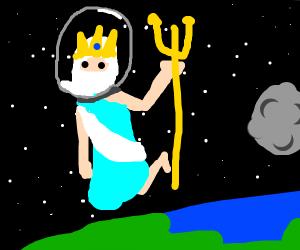Poseidon in space