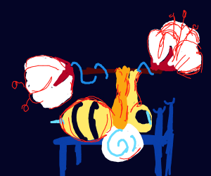 working out bee