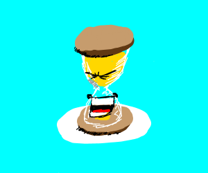 Laughing Hourglass
