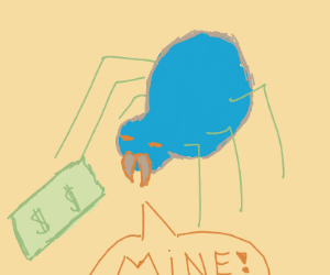 Mr. Spider stole my money