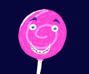 Happy lollipop