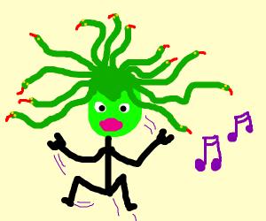 medusa dancing