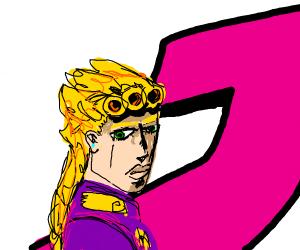 blonde guy from jojo