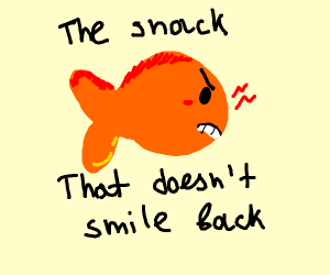 angery golfish