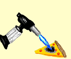 Blowtorch Pizza