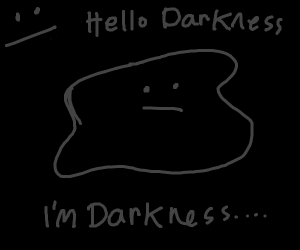 Darkness within darkness