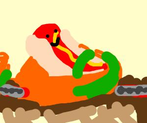 Hotdog amusement park