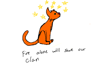 Firestarfromwarriorcats(searchituptodrawit)