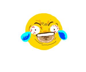 Afbeeldingsresultaat voor extreme laughing emoji