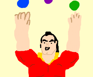 gaston juggling
