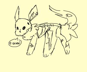 Deadeon ( dead eevee)