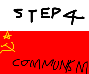 Step 2 Communism, Step 3 Reapers