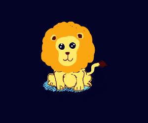 World's cutest lion
