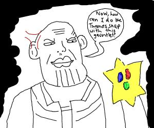 Thanos Stargauntlet