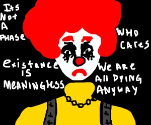 Ronald McEmo (Emo Ronald McDonald)
