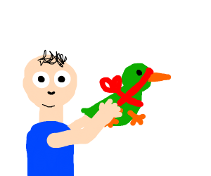 Man Giving Duck (maybe do same to me x)