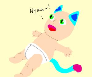 Young Neko-chan