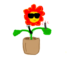 Agent Planty the Potted Plant