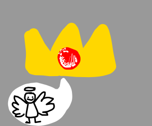 crown makes angel sounds
