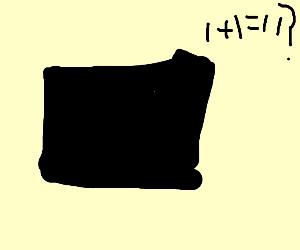 Back cube thats bad at math