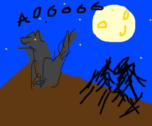 Werewolf enjoying Life