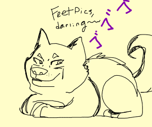 Doge really desires some feet