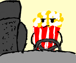 Driving with Popcorn