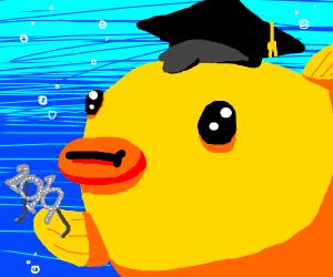 2019 fish graduation glasses