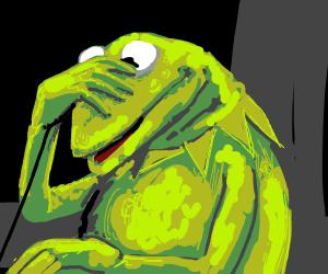 Kermit-The-Frog Has Regrets