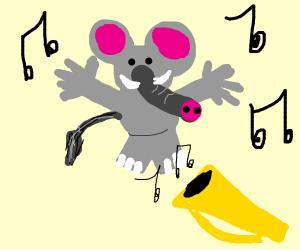 elephant does jazz hands