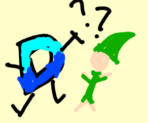 Link confused by drawception D