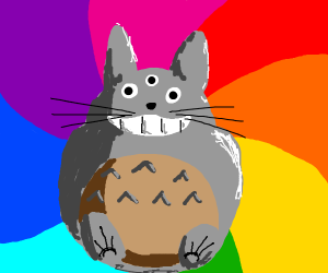 Psychedelic Totoro