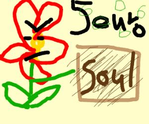 flower sells souls
