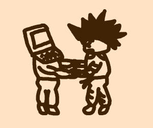 Computer Man Vs. Goku