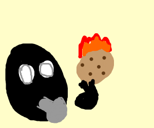 arsonist cookie